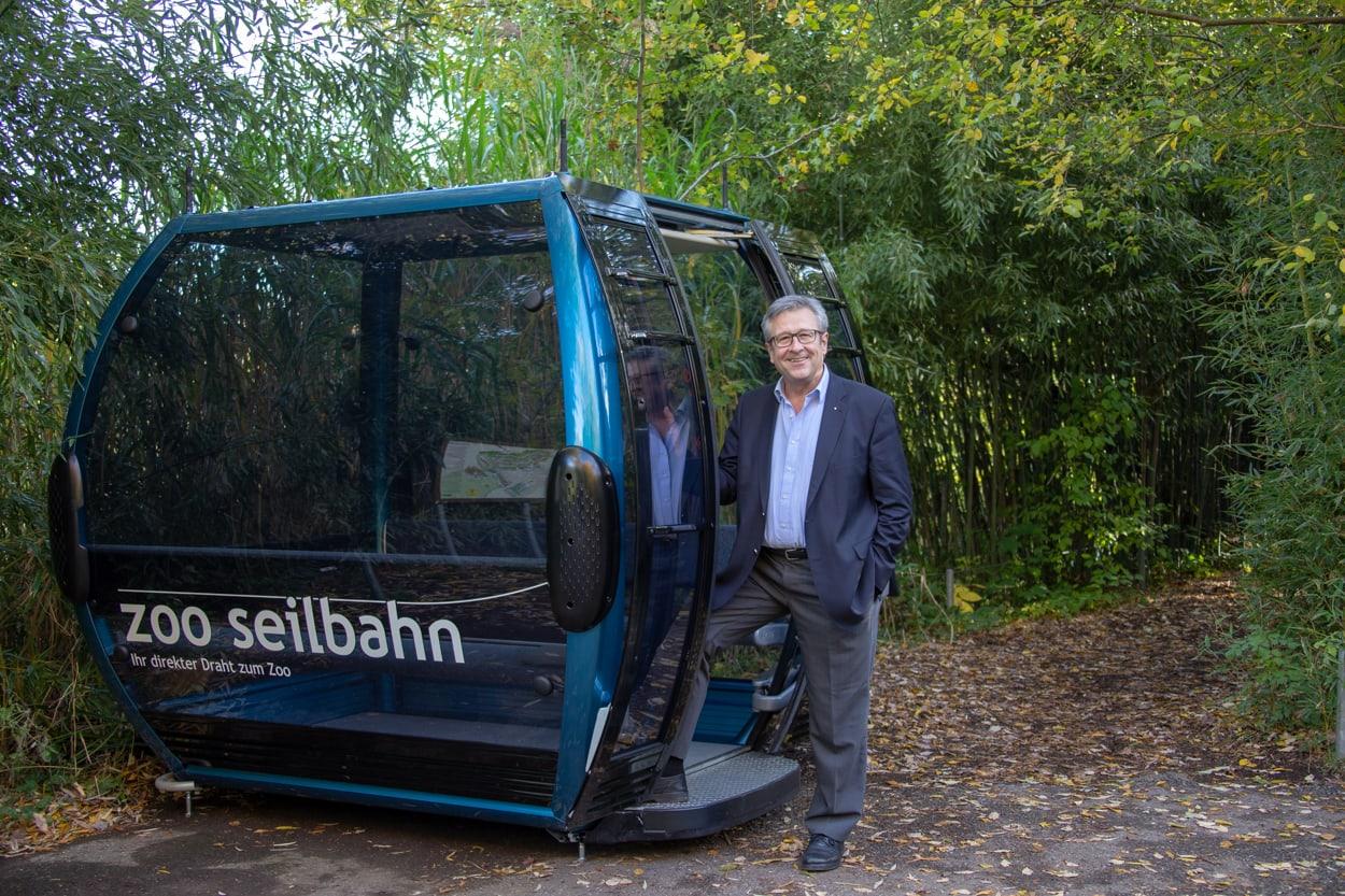 Andres Türler, VR-Präsident Zooseilbahn