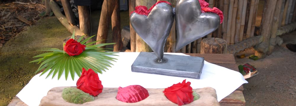 Heiraten/Hochzeit im Masoala Regenwald