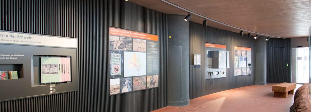 Naturschutzausstellung Australien.