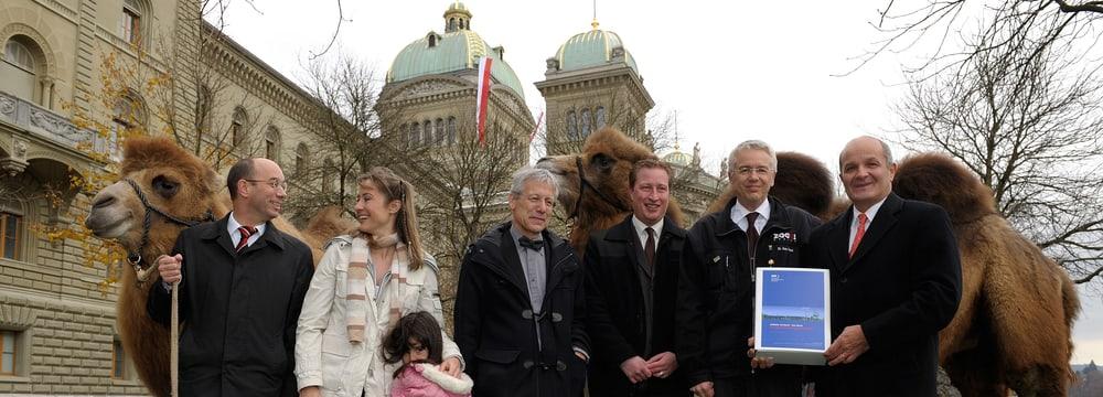 Einreichen 1. Plangenehmigungsgesuch Zooseilbahn in Bern.