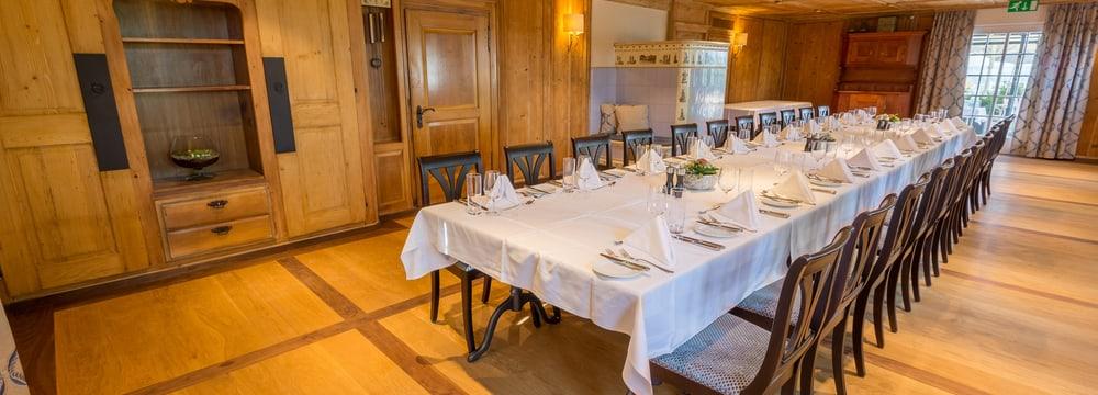 Seminarraum Buurestube im Restaurant Altes Klösterli
