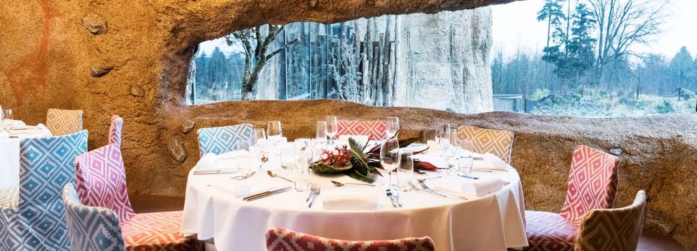 Kifaru-Lounge im Giraffenhaus in der Lewa Savanne.