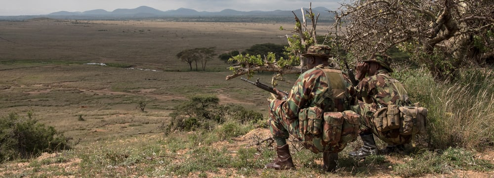 Ranger des Anti Poaching Units im Lewa Wildlife Conservancy.