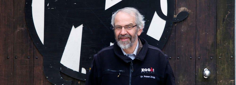Dr. Robert Zingg, Kurator Zoo Zürich.