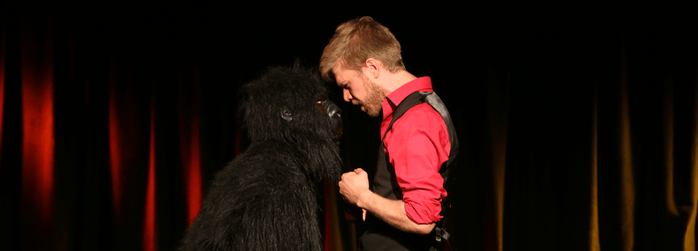Improvisationstheater im Zoo.