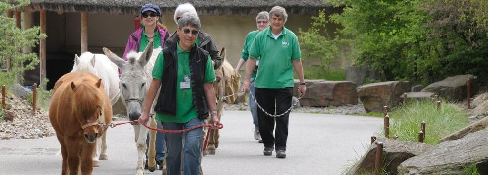 Mitglieder Freiwilligenteam FTZ im Zoo Zürich