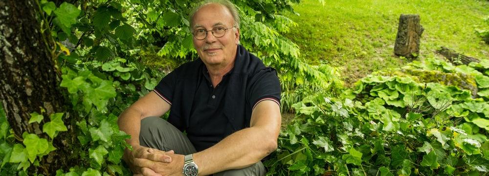 Landschaftsarchitekt Walter Vetsch.