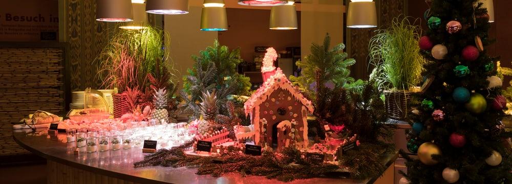 Weihnachtsbuffet im Restaurant Masoala