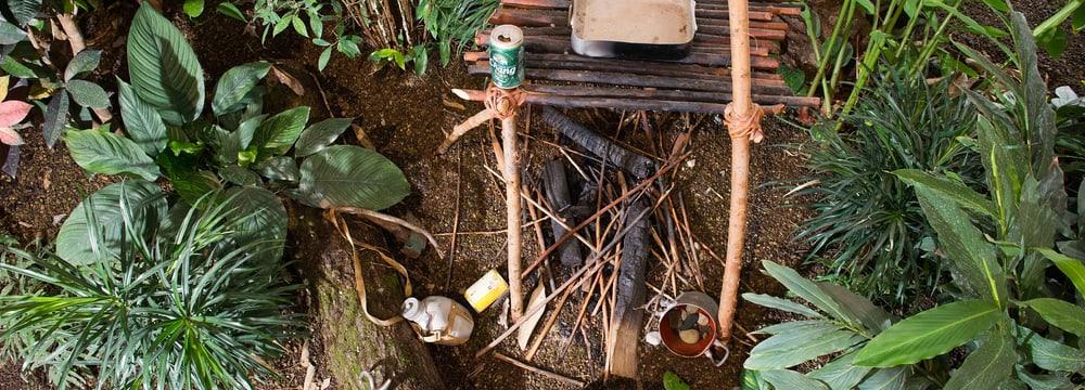 Exposition sur la conservation au parc d'éléphants Kaeng Krachan