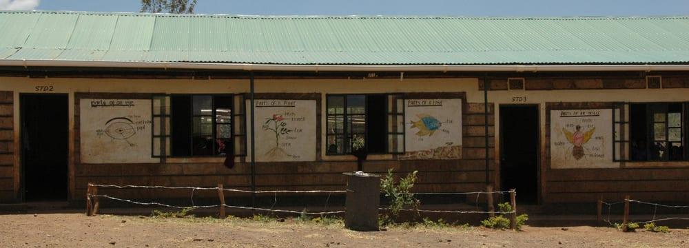 Lewa-Bildungszentrum im LWC in Kenia.