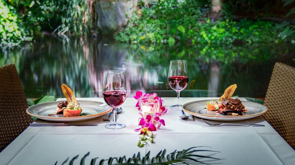Dinner im Restaurant Masoala des Zoo Zürich