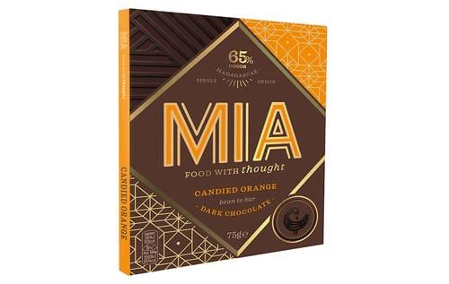 MIA Schokolade Candied Orange