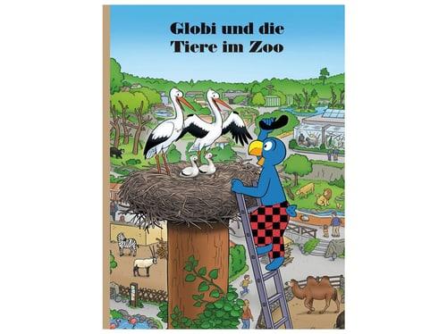 Buch Globi und die Tiere im Zoo