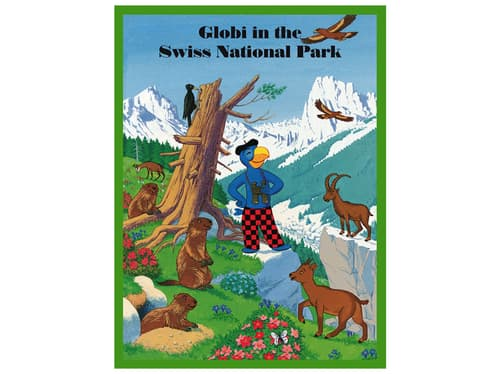 Buch Globi in the swiss national park (Englische Version)