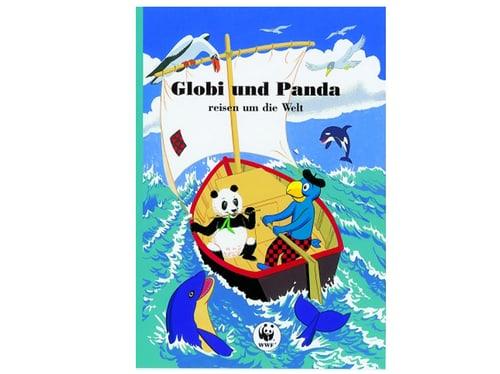 Buch Globi und Panda reisen um die Welt