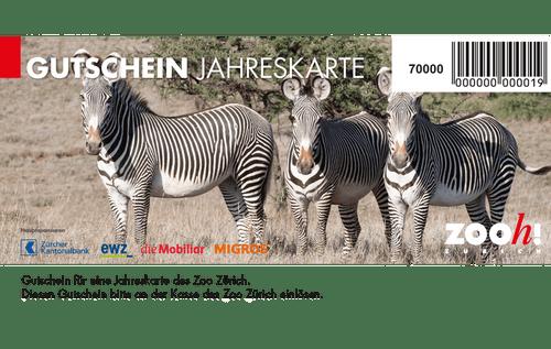 Gutschein Jahreskarte Zoo Zürich