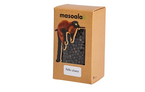 Masoala Pfeffer schwarz ganze Körner