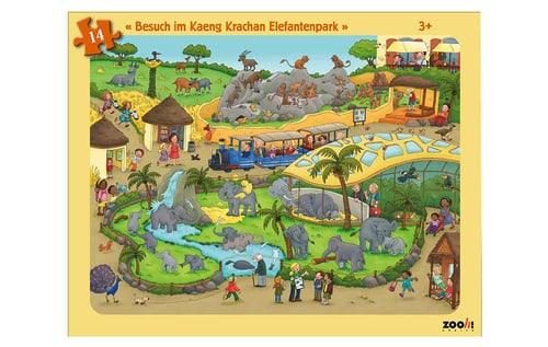 Zooh! Puzzle Besuch im Kaeng Krachan Elefantenpark
