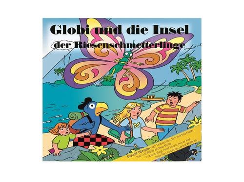 CD Globi und die Insel der Riesenschmetterlinge