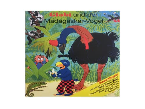 CD Globi und der Madagaskar Vogel