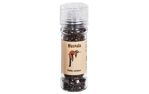 Masoala Pfeffermühle schwarz