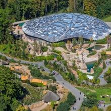 Kaeng Krachan Elefantenpark im Zoo Zürich.