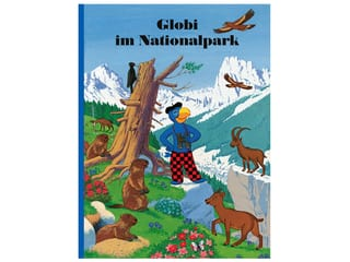 Buch Globi im Nationalpark