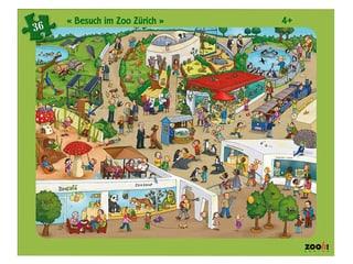 Zooh! Puzzle Besuch im Zoo Zürich