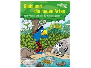 Buch Globi und die neuen Arten