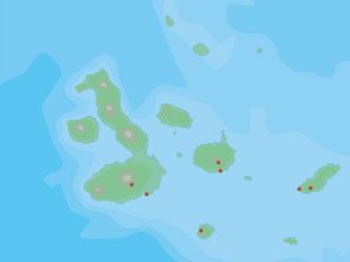 Karte Galapagos