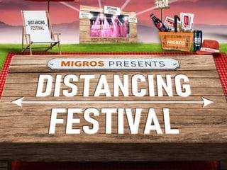 Distancing Festival Eventkategorie