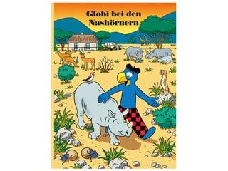 Buch Globi bei den Nashörnern