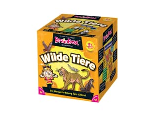 BrainBox Wilde Tiere