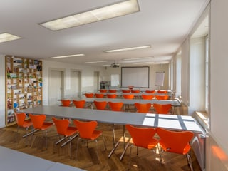 Seminarraum Fuchsbau in der Naturwerkstatt im Zoo Zürich