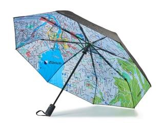 Regenschirm rainmap Zürich City