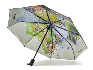 Regenschirm rainmap Zoo Zürich