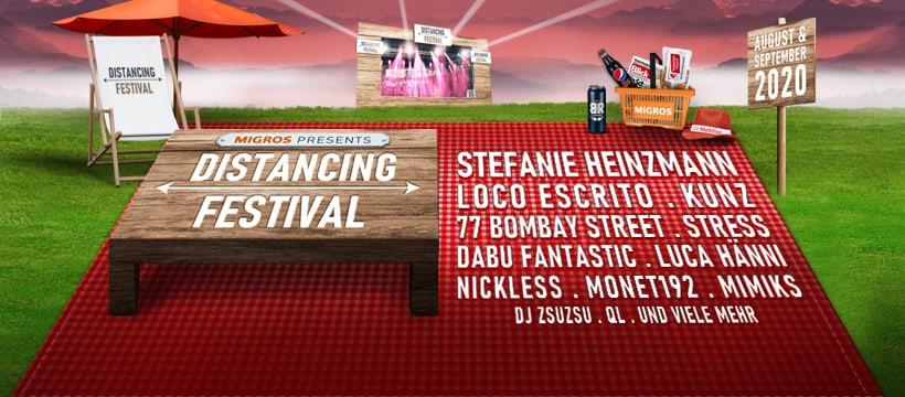 Distancing Festival 2020  header
