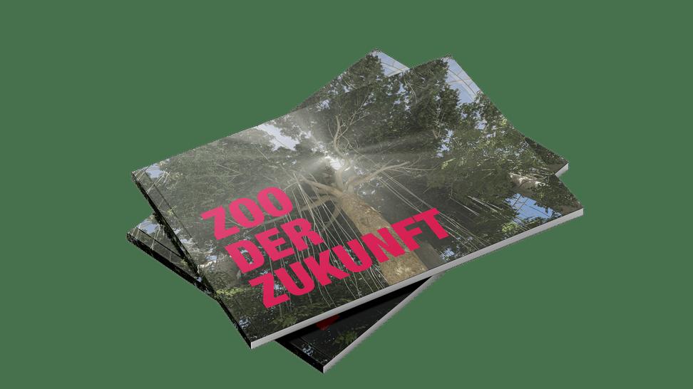 Mockup Broschüre Entwicklungsplan 2050
