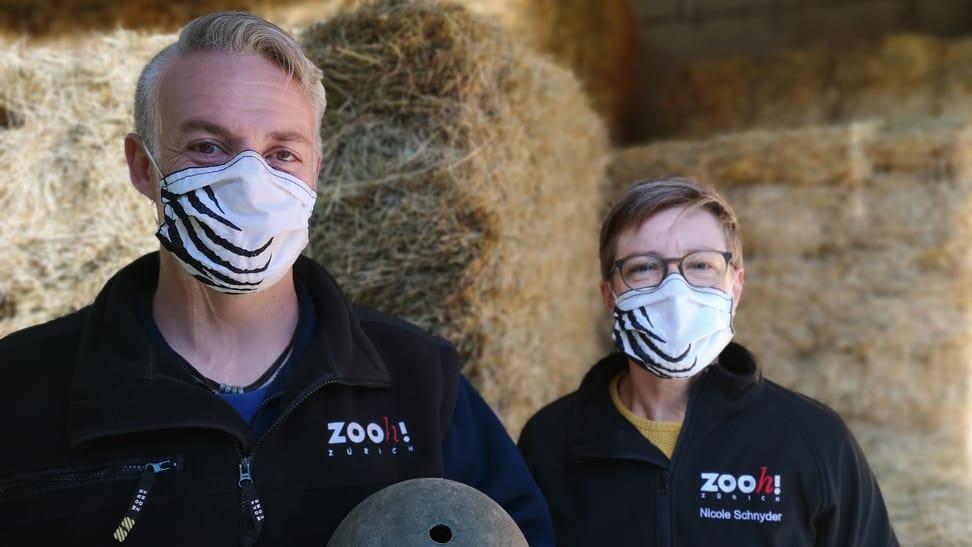 Aufnahmen zum Podcast Elefantenpark mit Nicole Schnyder und Daniel Hafner