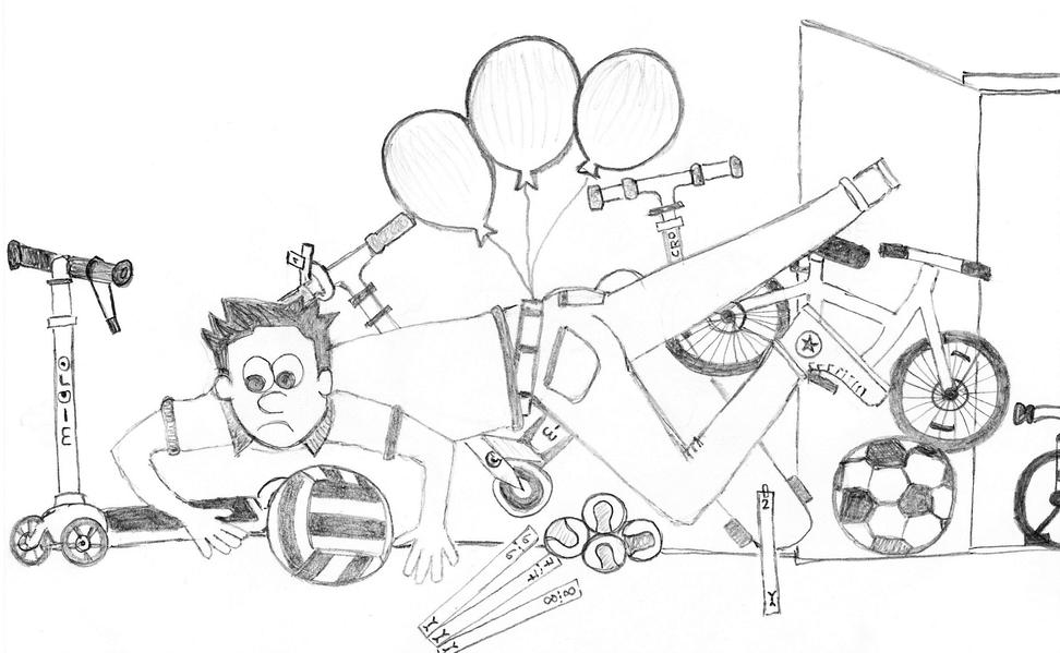 Illustration Kickboards.