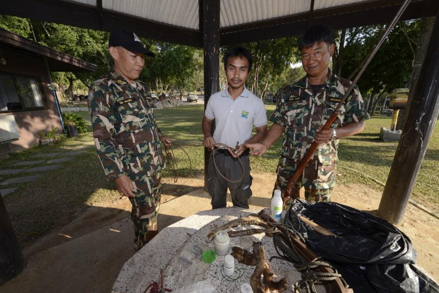 Ranger des Kaeng Krachan Nationalparks.
