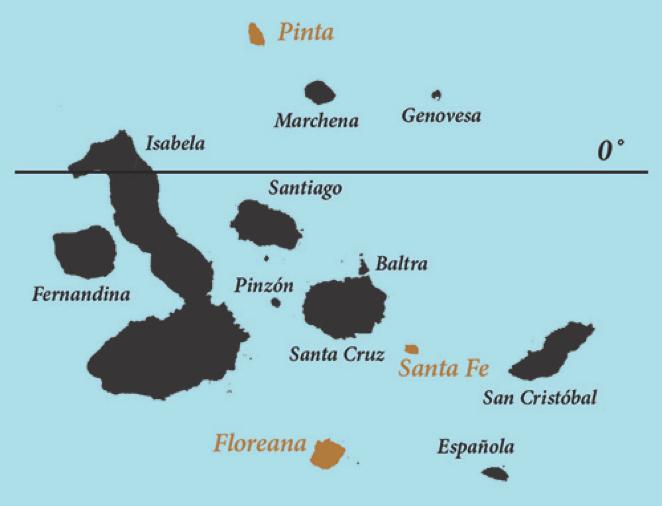Karte von Santa Fe