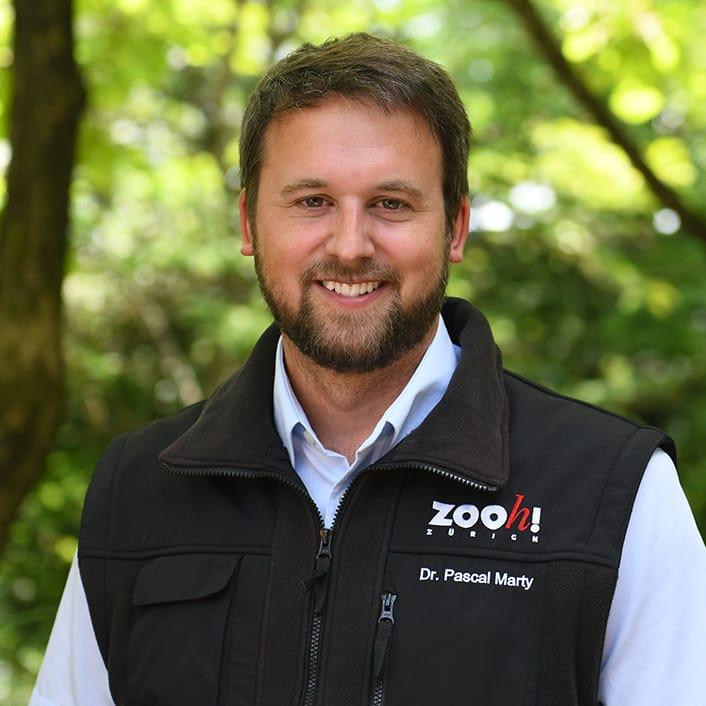 Dr. Pascal Marty, Kurator Kommunikation Zoo Zürich.