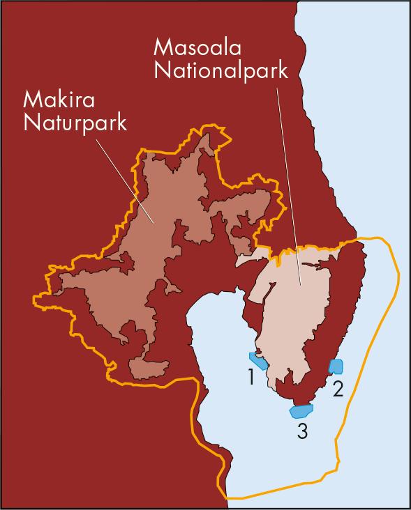 Masoala Nationalpark und Naturschutzregion MaMaBay