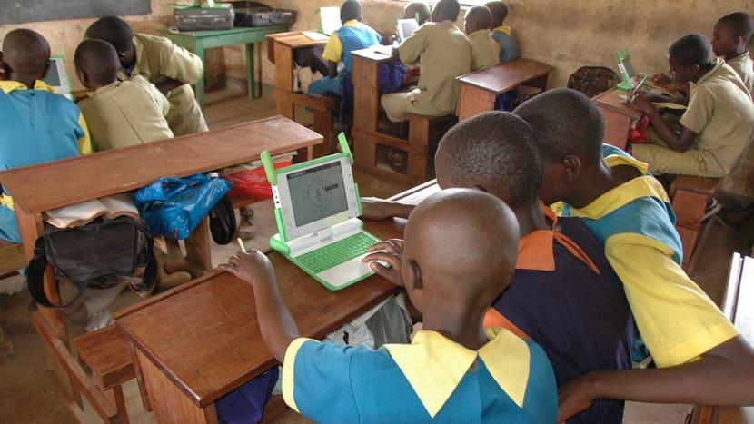 Kinder im Lewa-Bildungszentrum im LWC in Kenia.