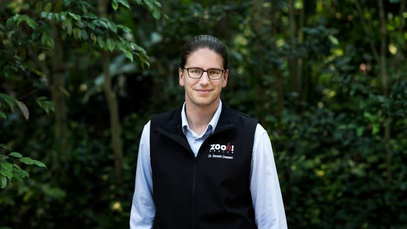 Ab 1. Juli 2020 der neue Direktor des Zoo Zürich: Dr. Severin Dressen.
