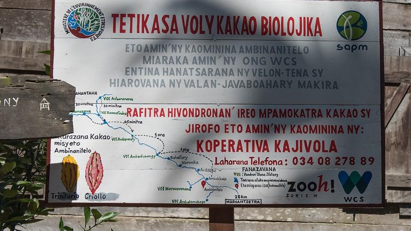 Kooperative Kajivola in Ambinanitelo.