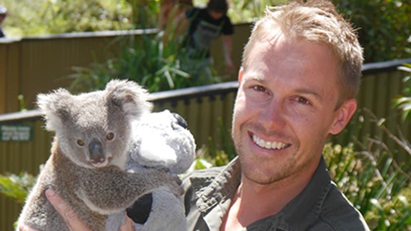 Tim Faulkner, Leiter Australian Reptile Park.
