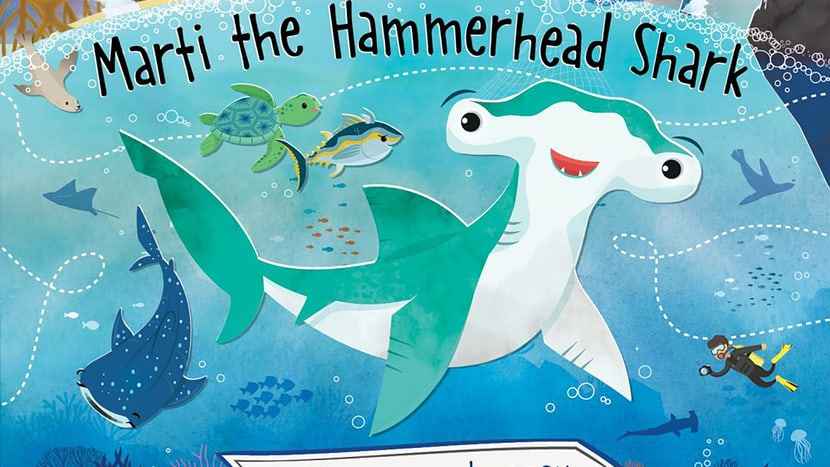 Marti the Hammerhead Shark