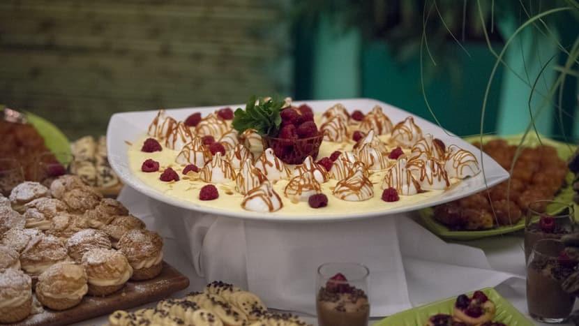 Mittsommerfest; Dessert.